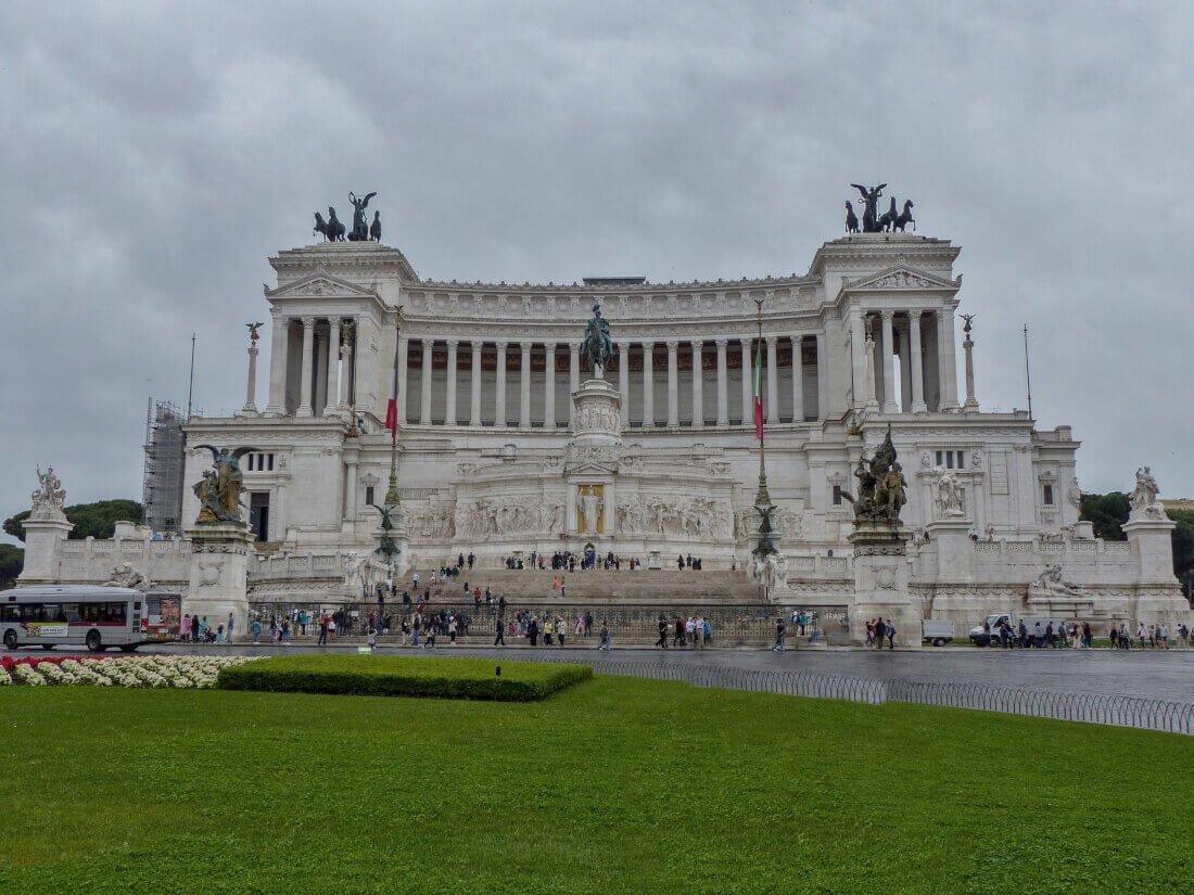 Monument Vittorio Emanuele, Rome, Italy