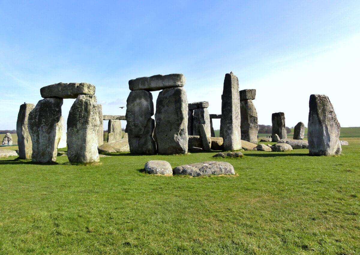 Mysterious Stonehenge England