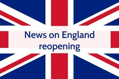 News on England reopening
