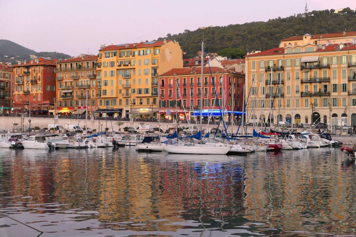 Marina Port Lympia, Nice, França