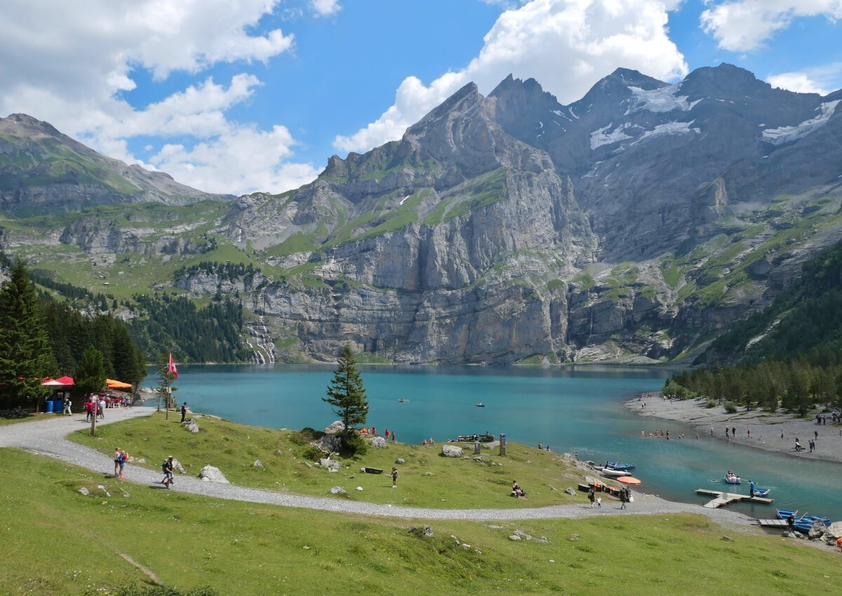 Oeschinensee, Switzerland