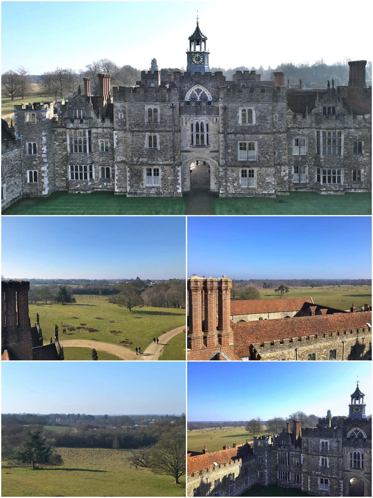 Panoramic views from Knole House