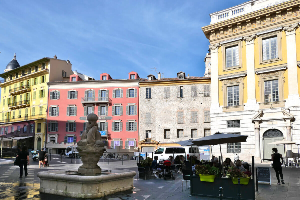 Place Saint-François, Nice, France