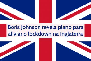Plano aliviar Lockdown Inglaterra