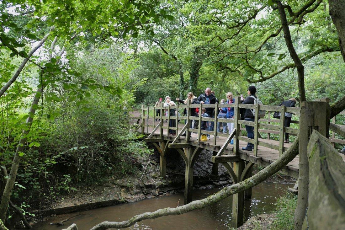 Poohsticks Bridge, Winnie the Pooh, Ashdown Forest