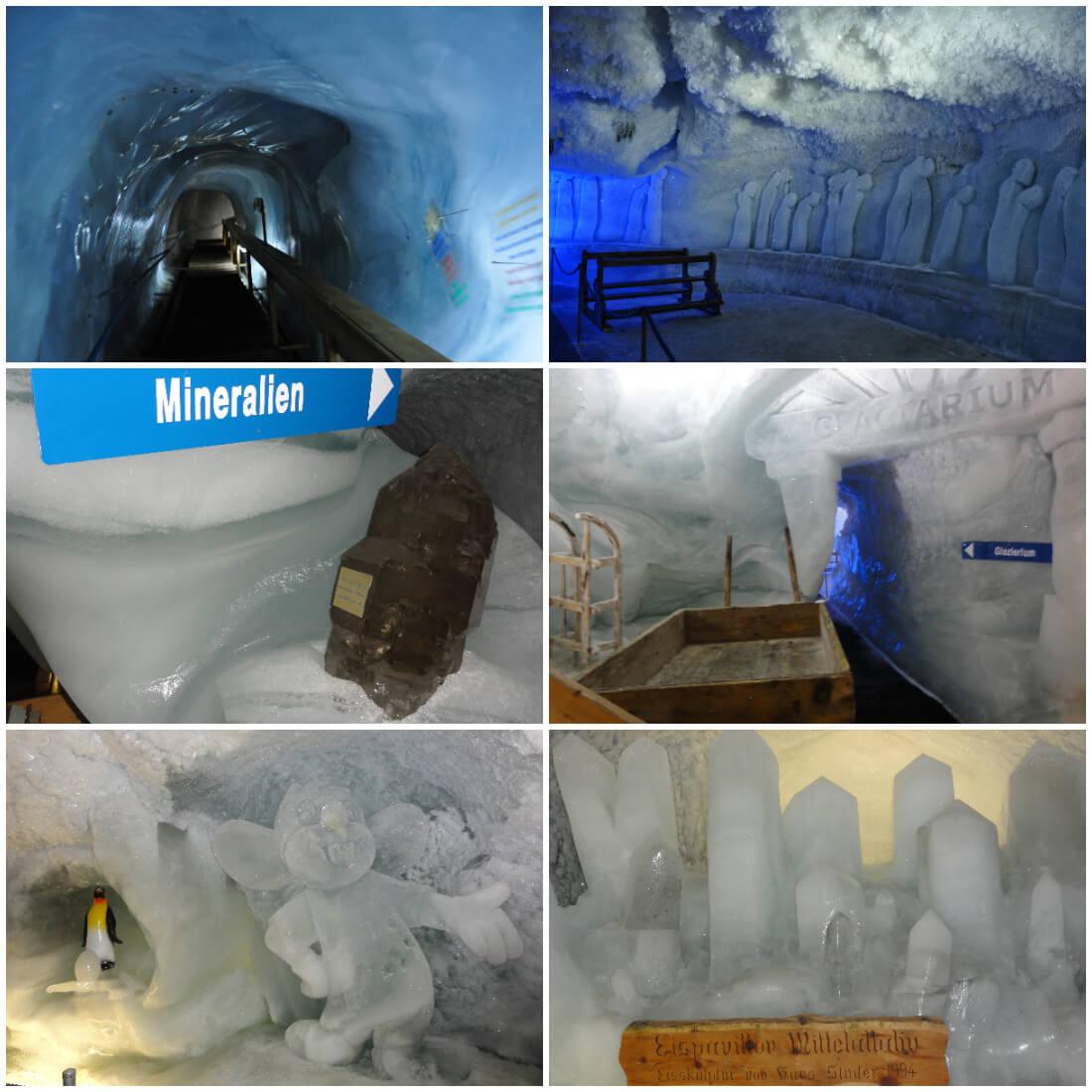 Allalin Ice Pavilion, Saas-Fee, Switzerland