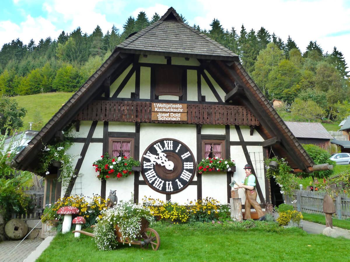 Schonach cuckoo clock