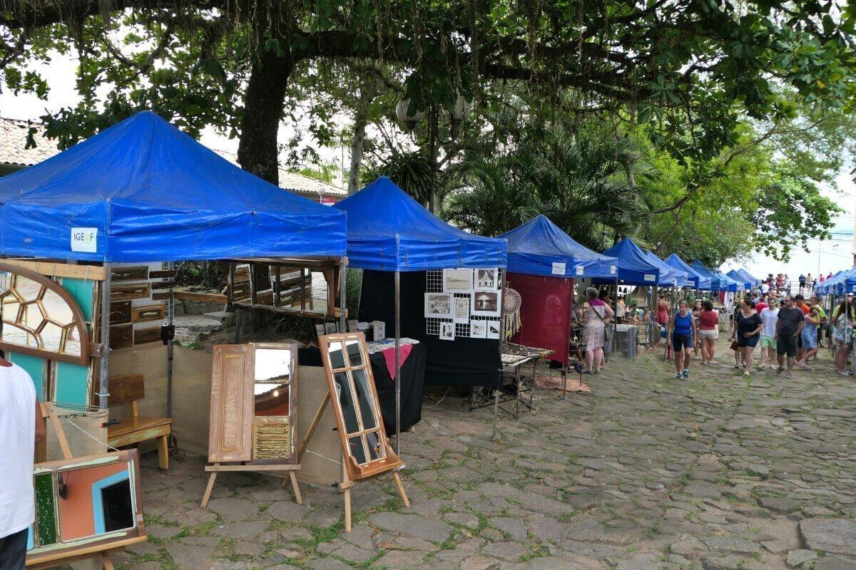 Street Market, Santo Antônio de Lisboa, Florianópolis, Brazil