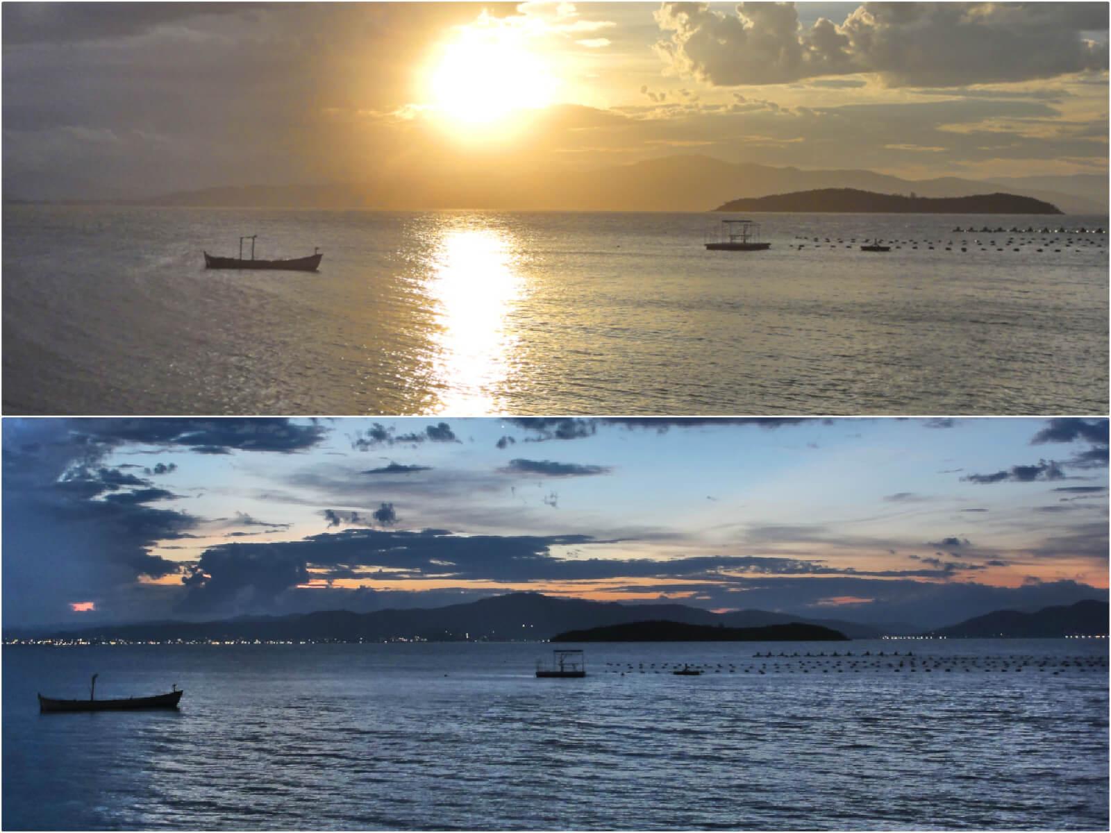 Sunset, Santo Antônio de Lisboa, Florianópolis, Brazil