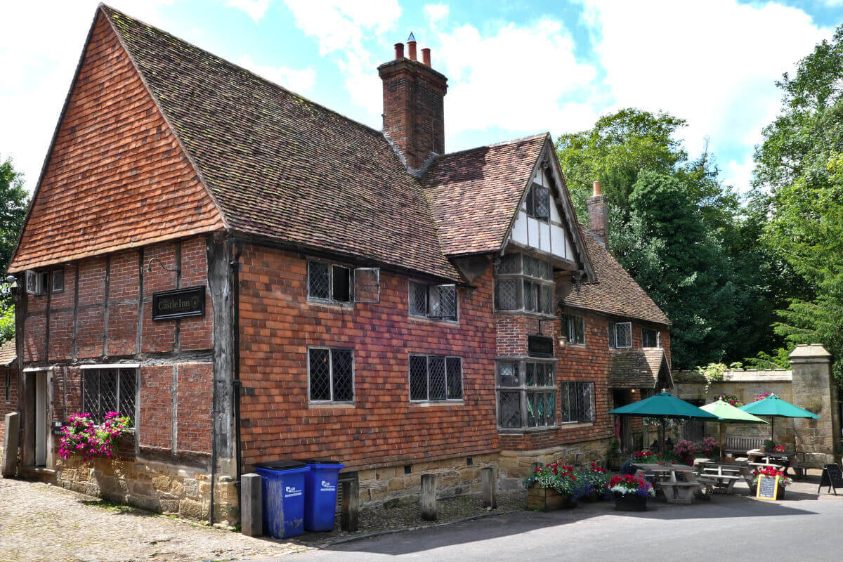 The Castle Inn, Chiddingstone Village 1