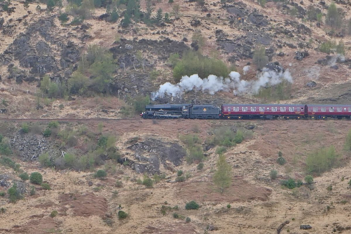 The Jacobite Steam Train, Harry Potter, Glenfinnan, Scotland