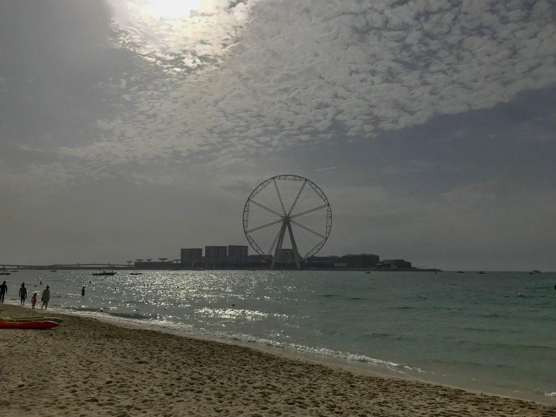 The beach, JBR, Dubai