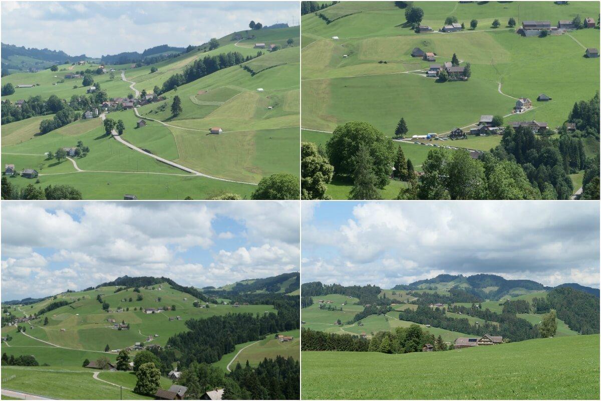 Views from Hemberg, Switzerland