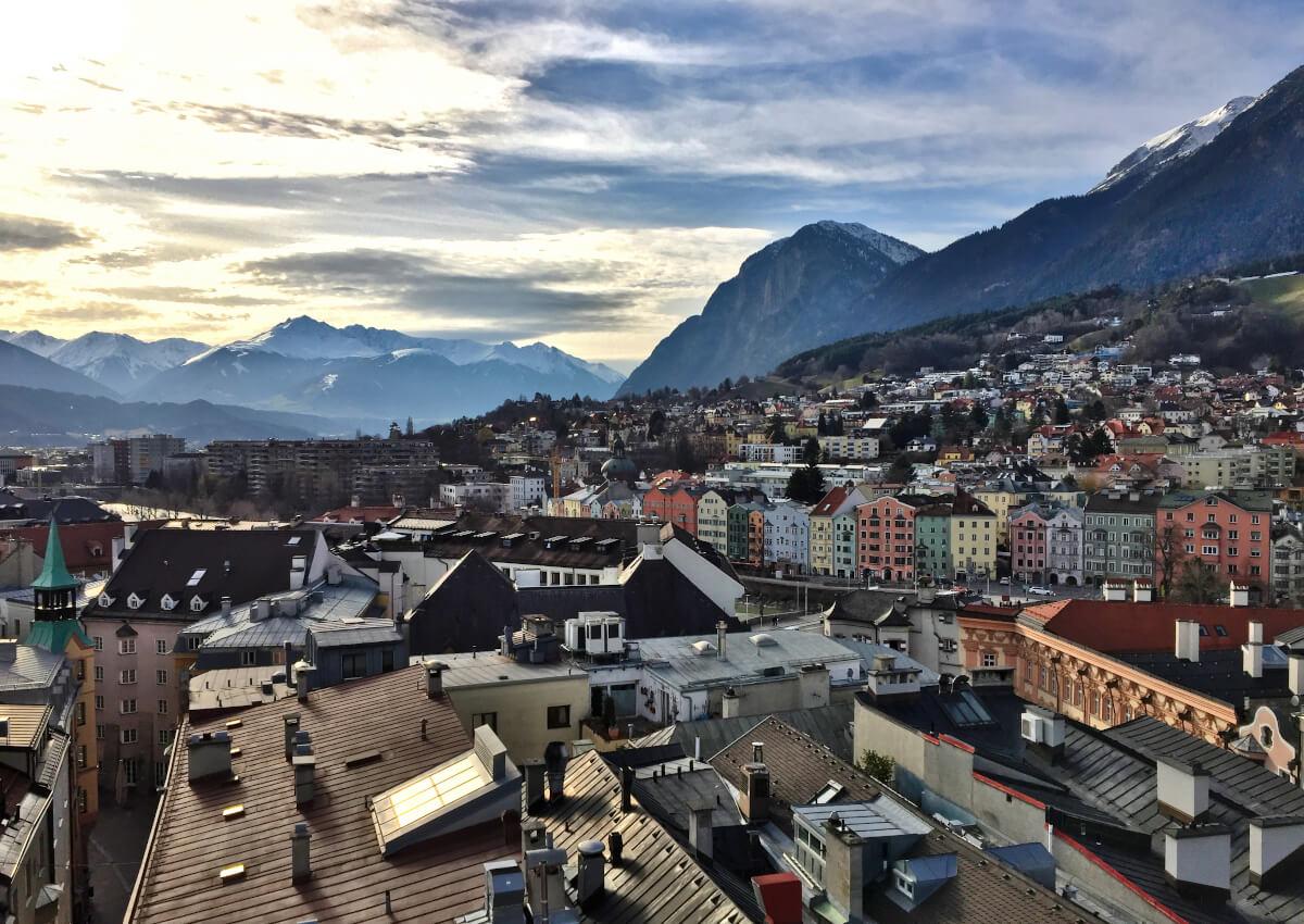 Views from Stadtturm, Innsbruck