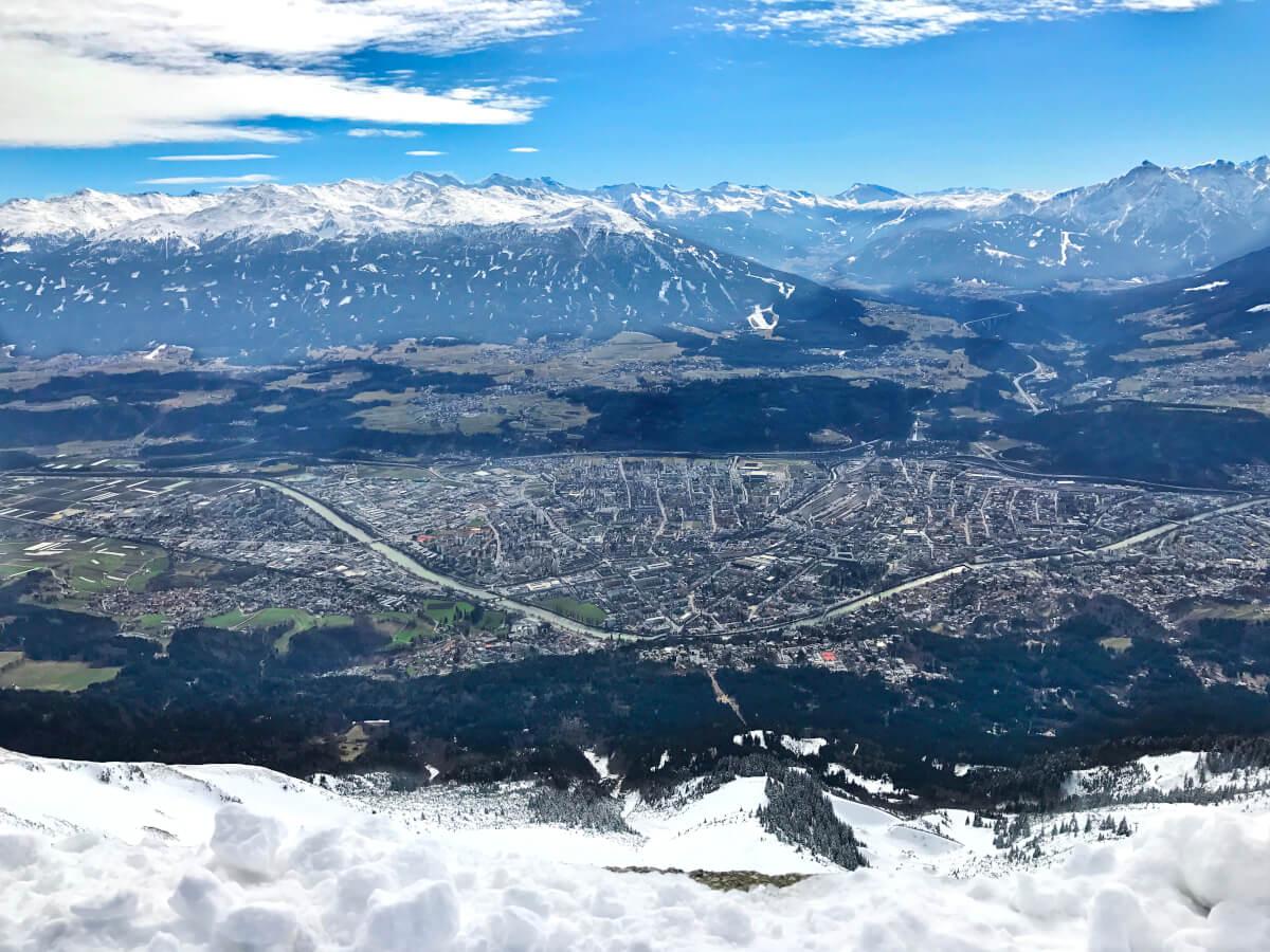 Views of Innsbruck from Nordketten