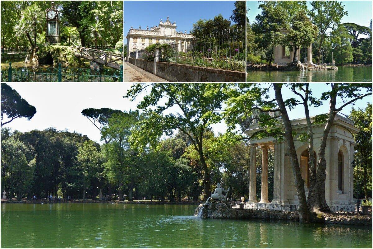 Vila Borguese Park, Rome, Italy
