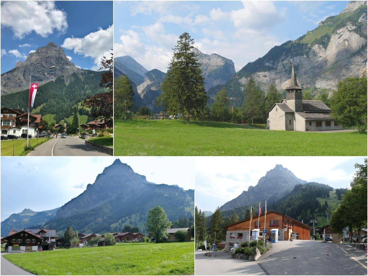 Way to Gondelbahn Kandersteg-Oeschinensee, Switzerland