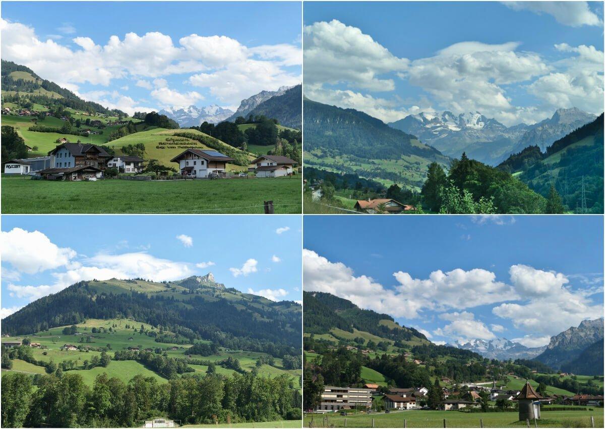 Way to Kandersteg, Switzerland