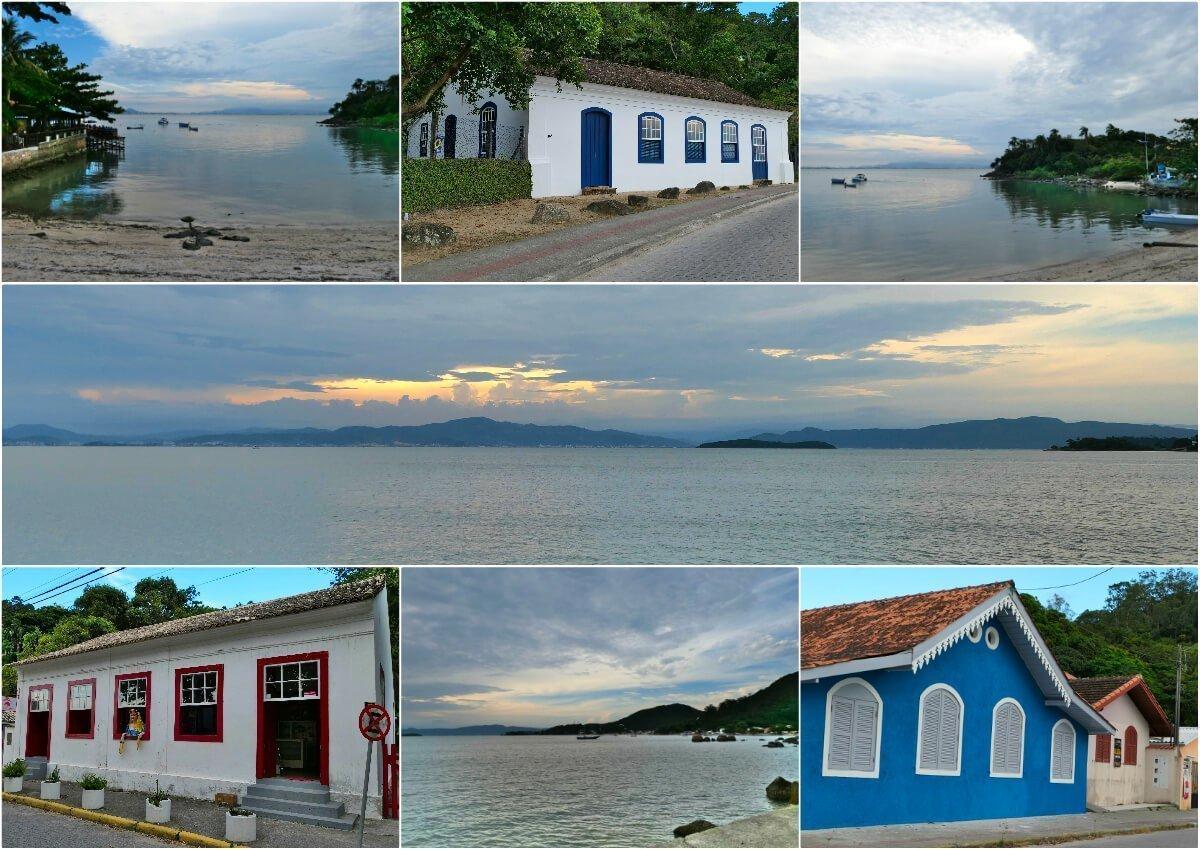 Way to Santo Antônio de Lisboa, Florianópolis, Brazil