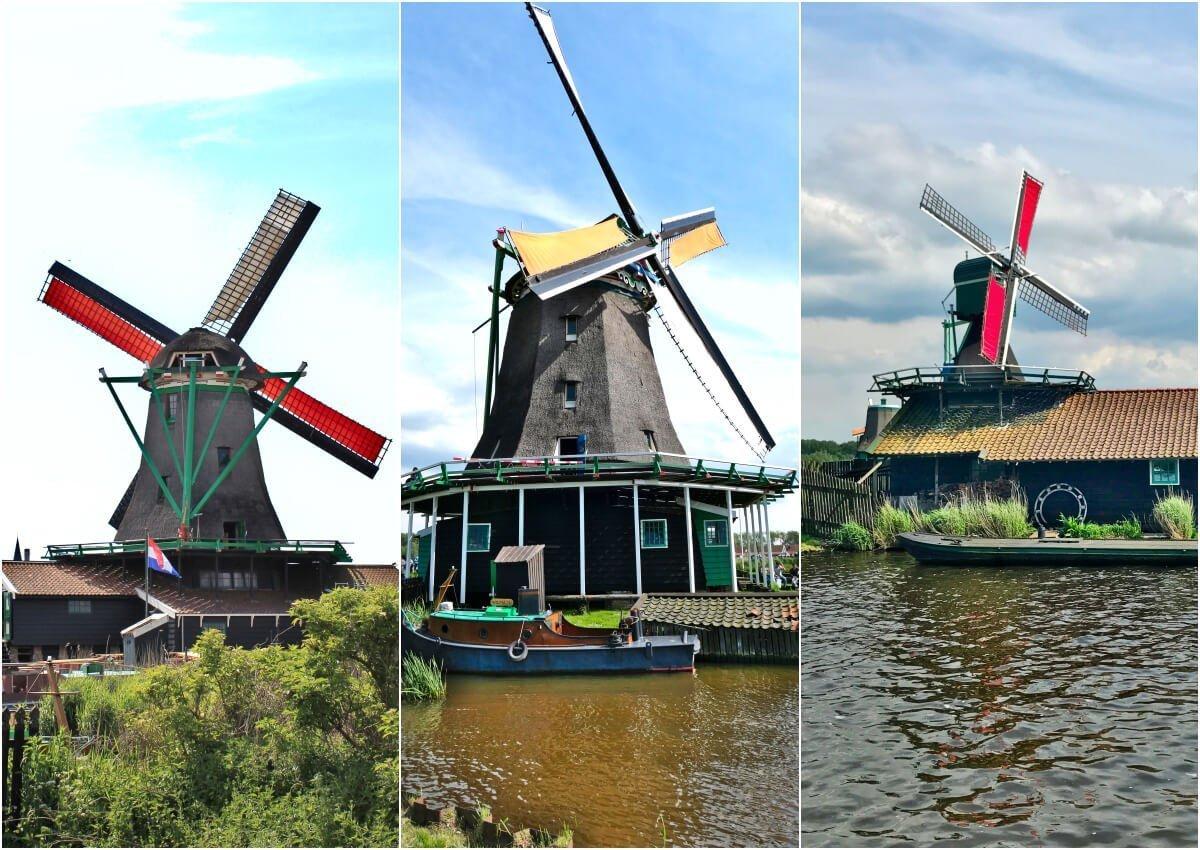 Zaanse Schans Windmills, Netherlands