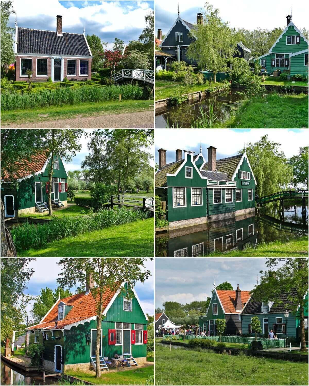 Zaanse Schans Wooden Houses, Netherlands